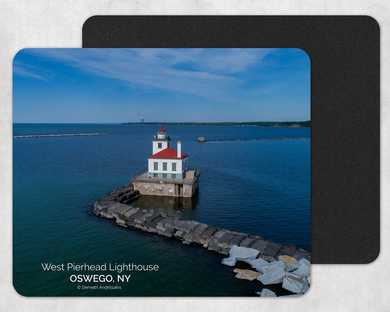 West Pierhead Lighthouse Mouse Pad