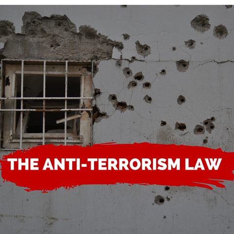 The Anti-Terrorism Law- FINALLY