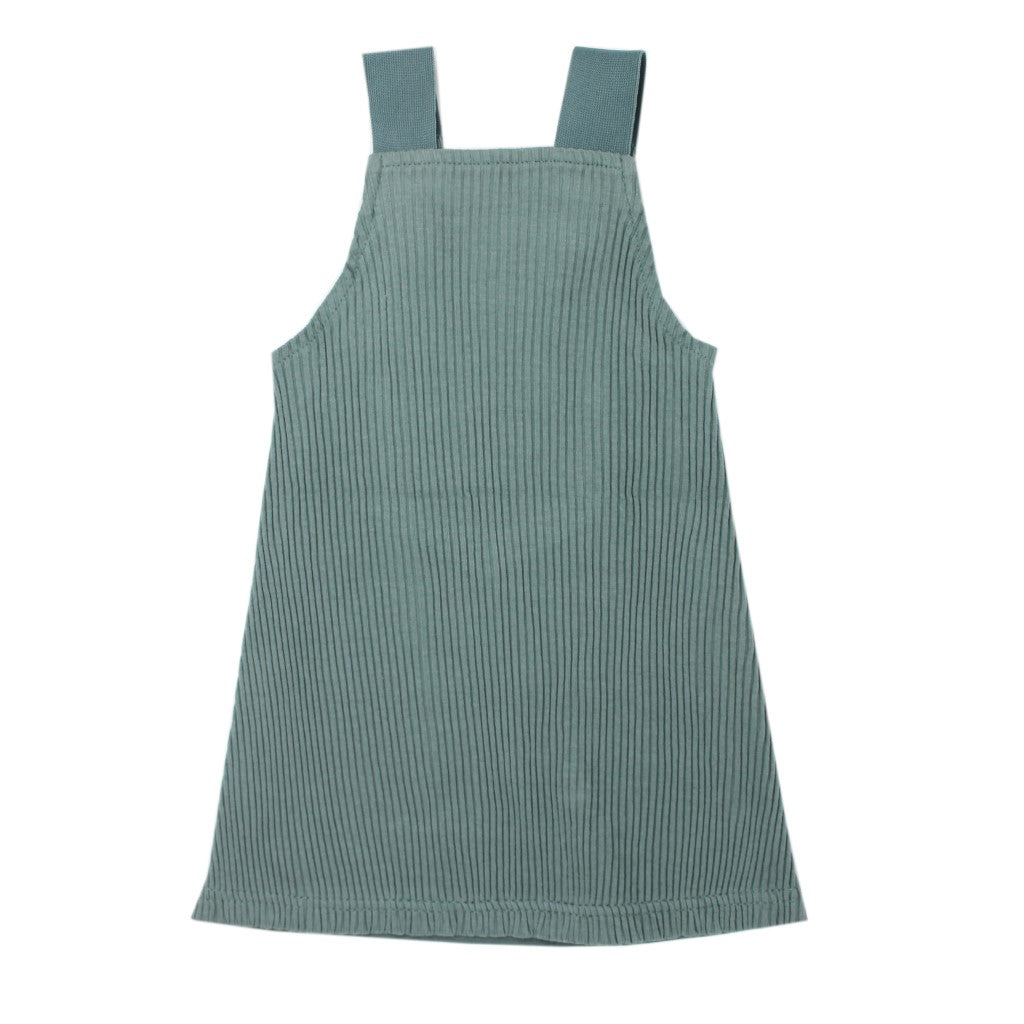 Ribbed Tank Dress Jade