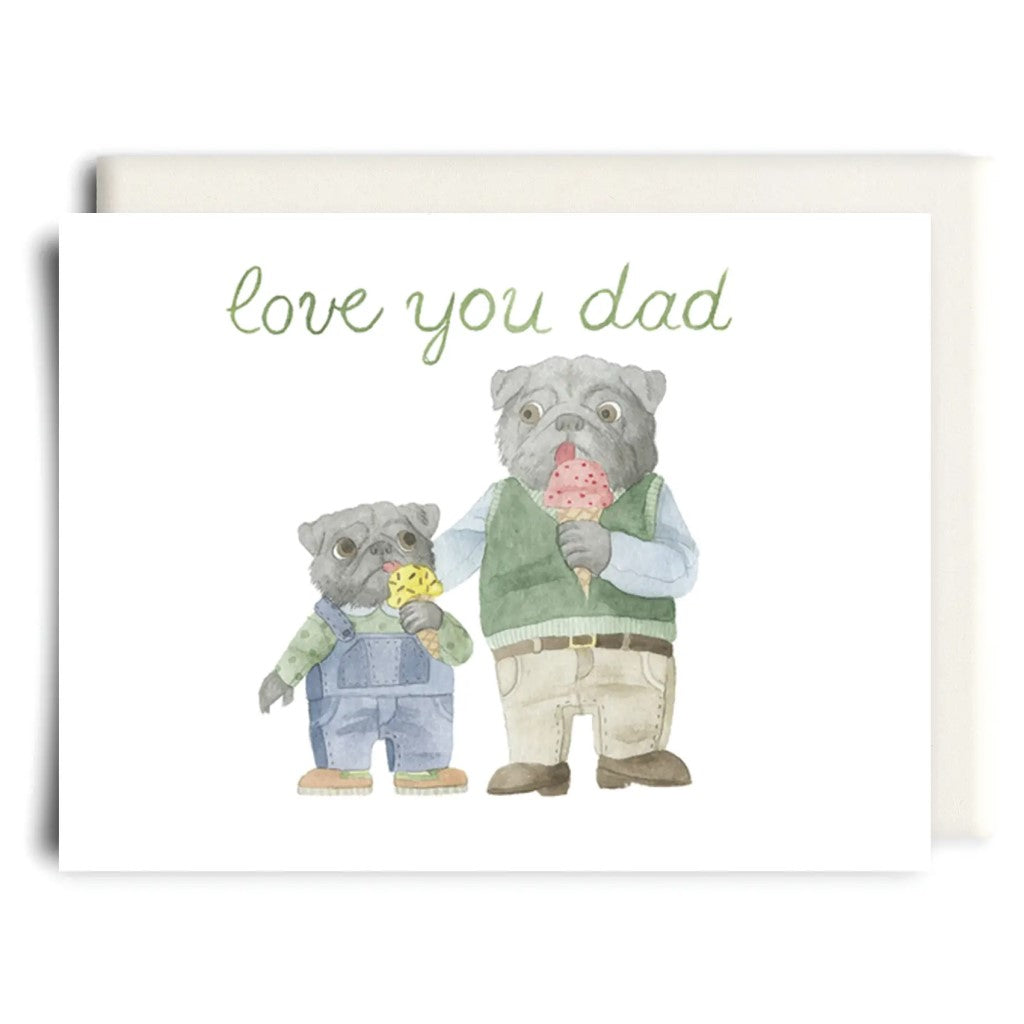 Love You Dad Card