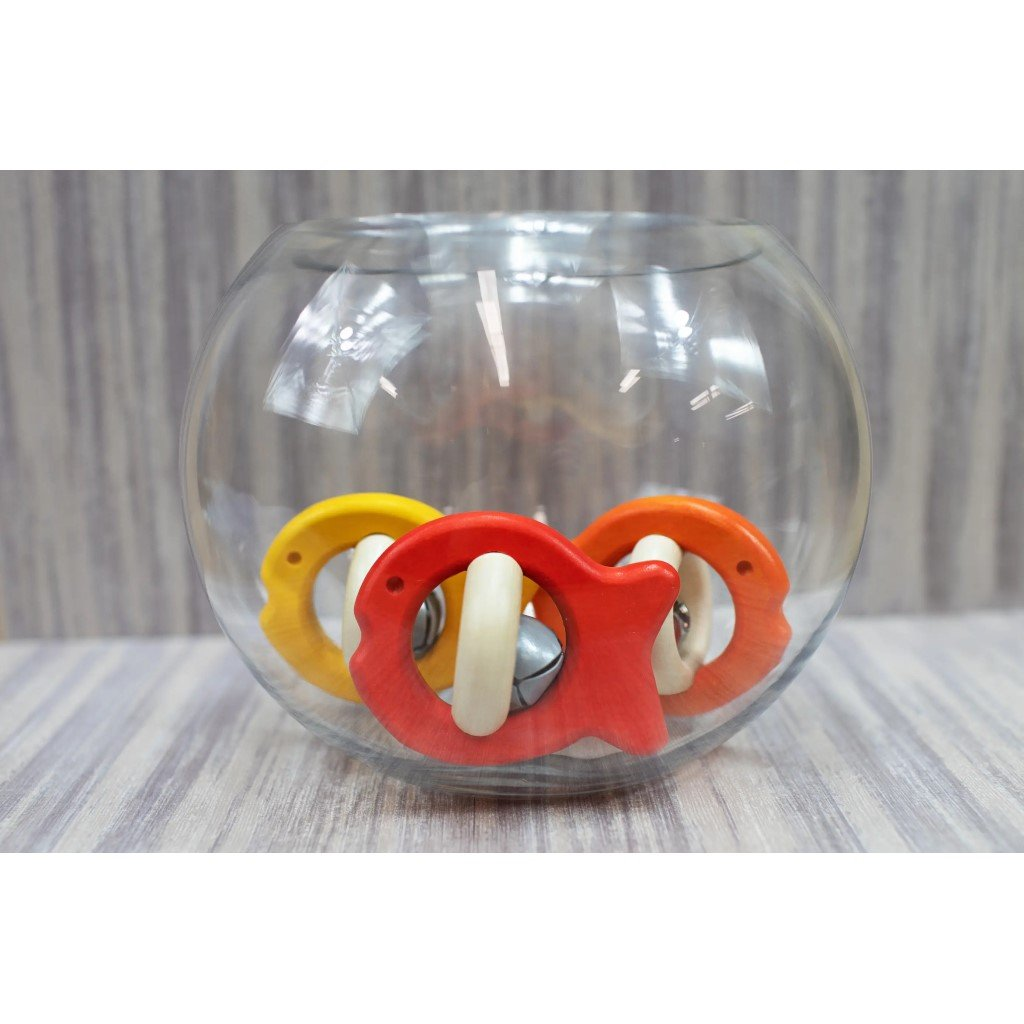 Wooden Fish Rattle