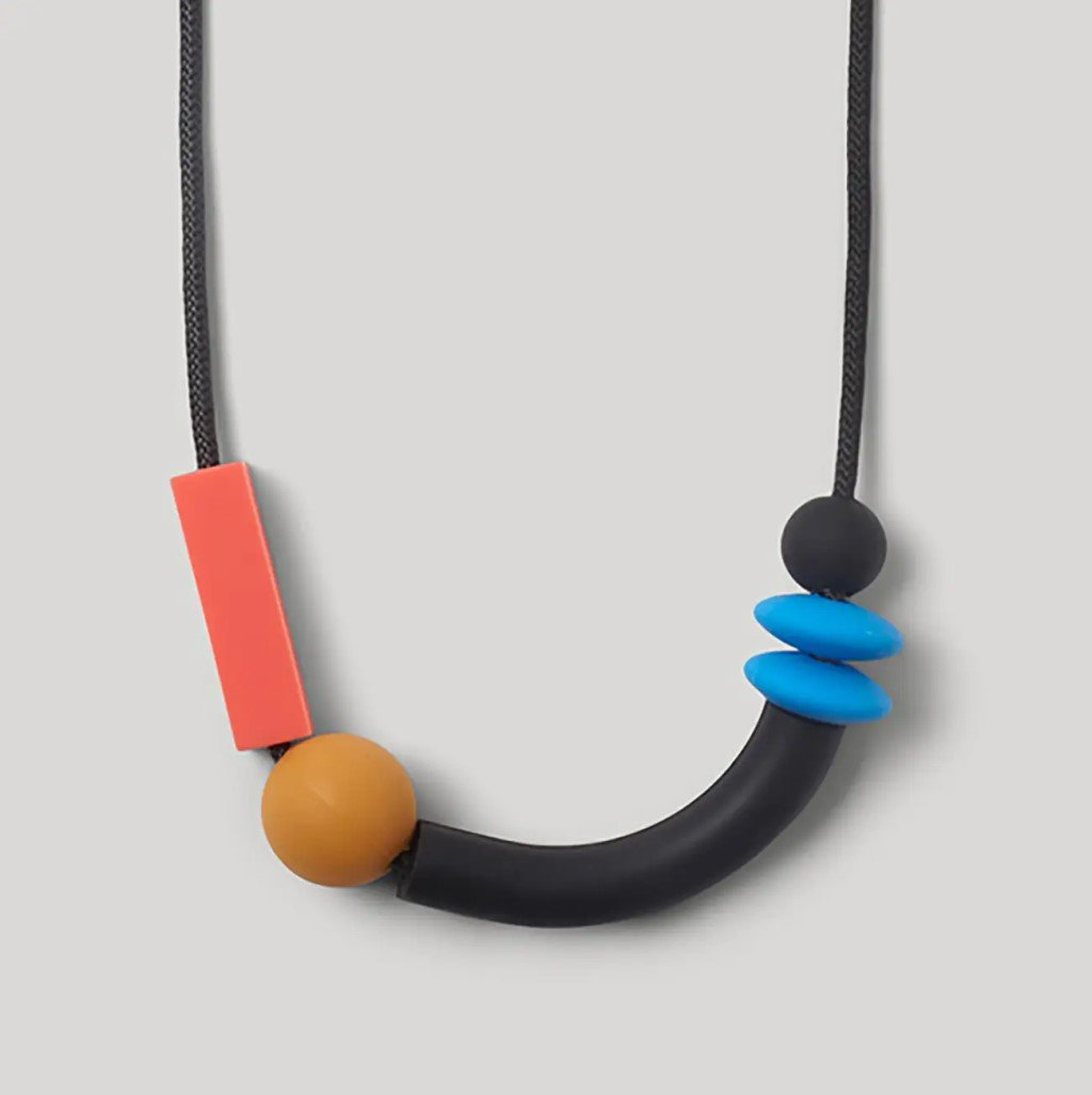 Balance Teething Necklace - Cobalt
