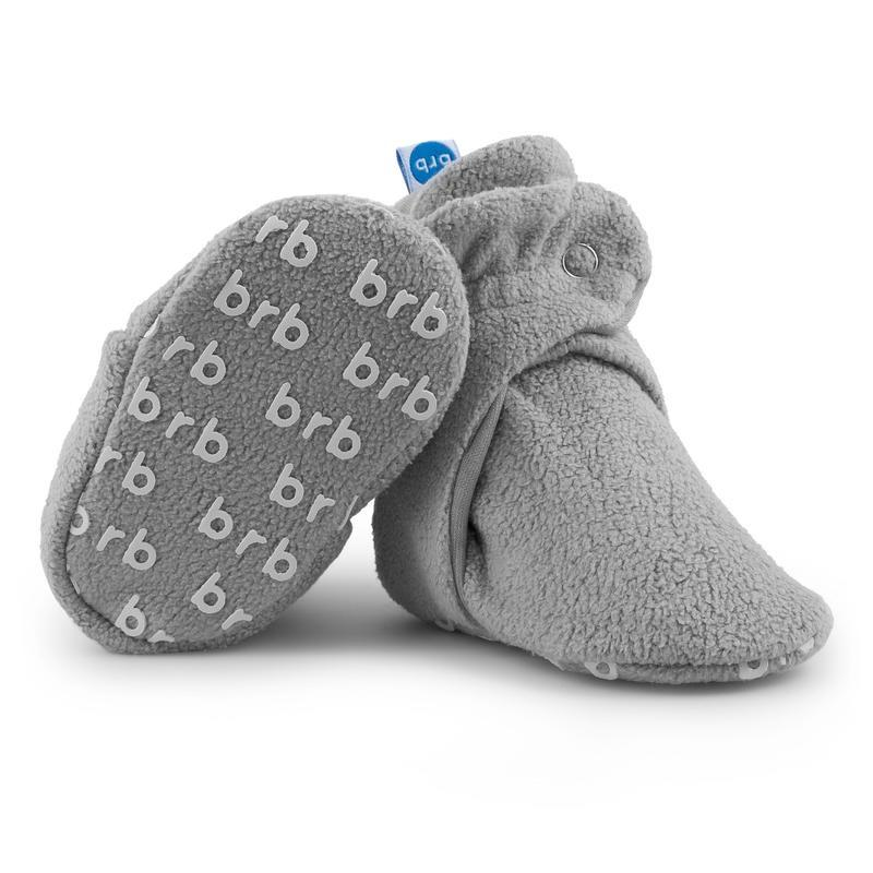 Fleece Baby Booties - Koala