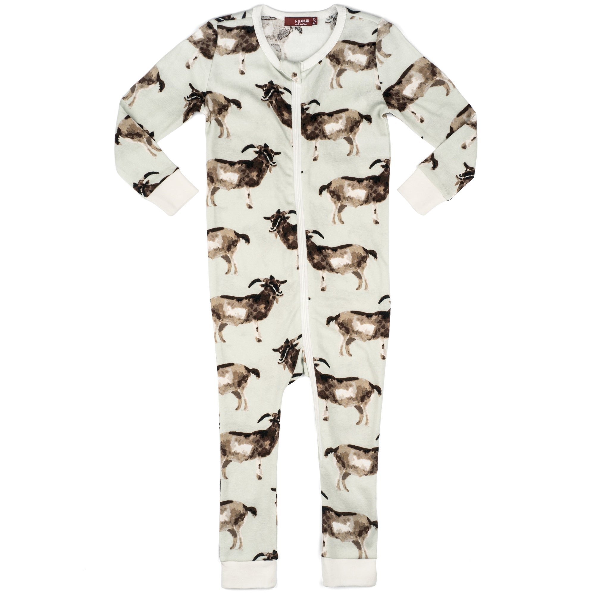 Organic Zippered PJs