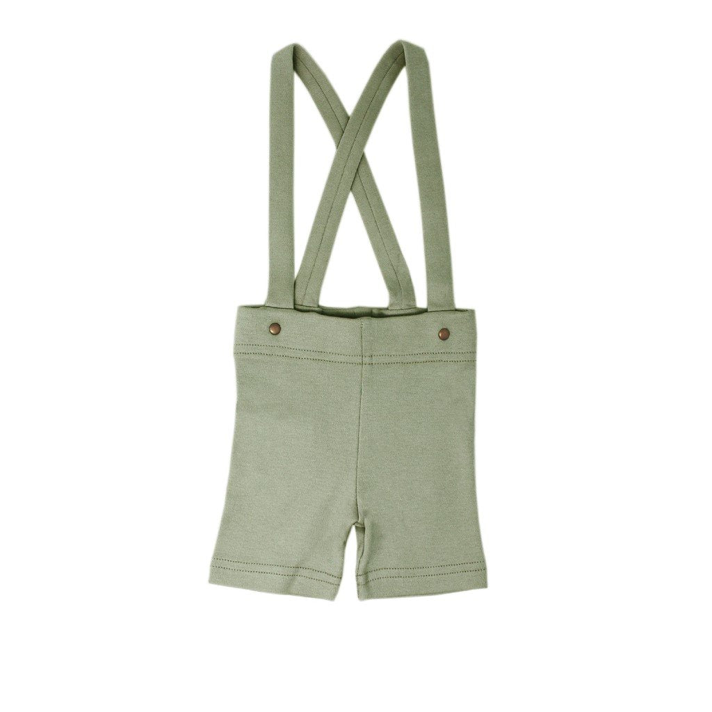 Suspender Shorts - Fern