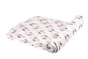 Bamboo Muslin Swaddle Single - Sparrow