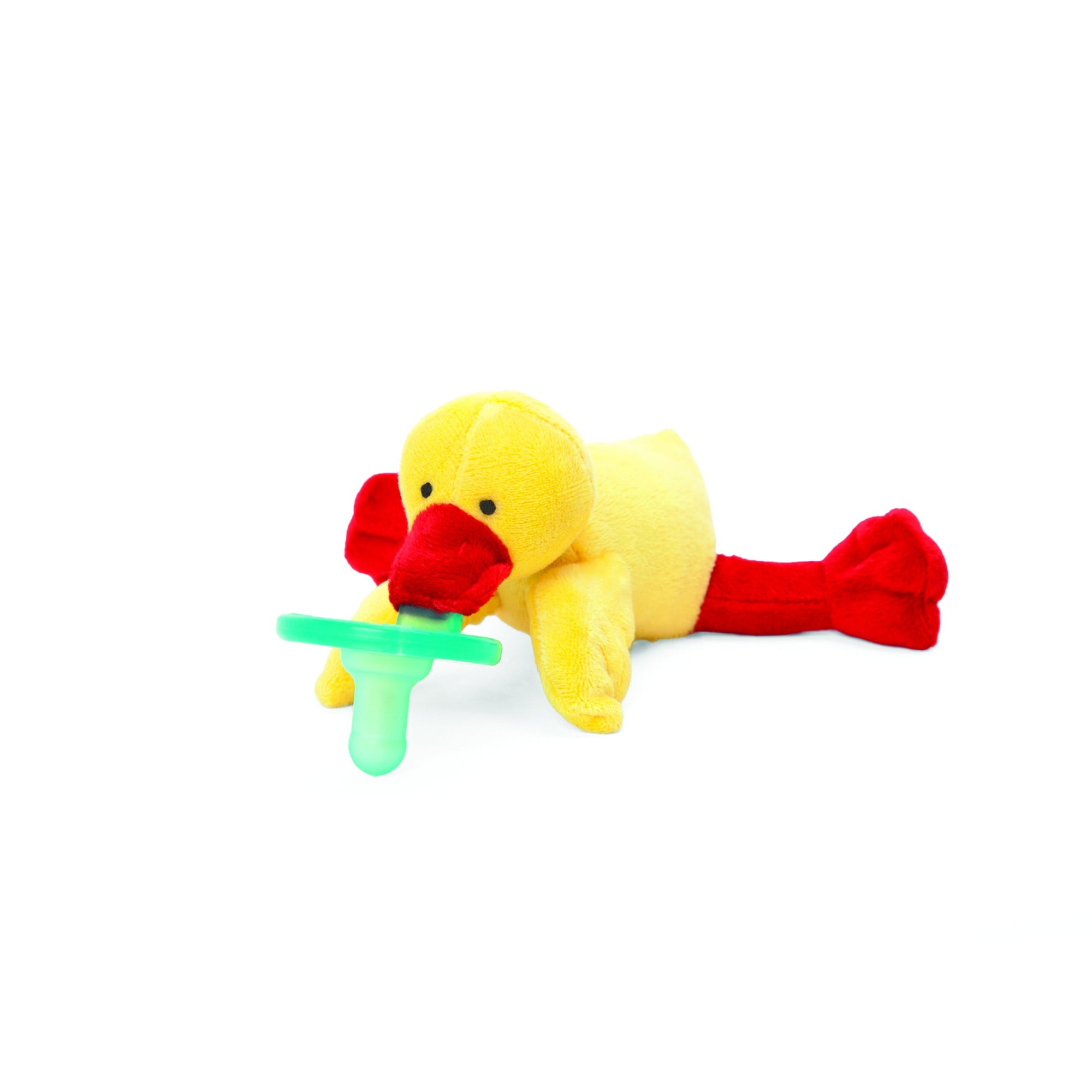 WubbaNub Pacifier & Lovey - Yellow Duck