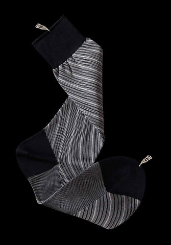 Barber Stripe Mid-Calf