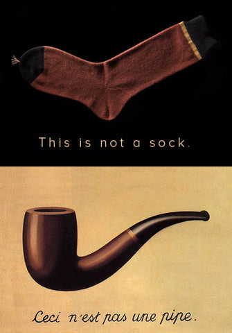 Magritte Pipe Sock