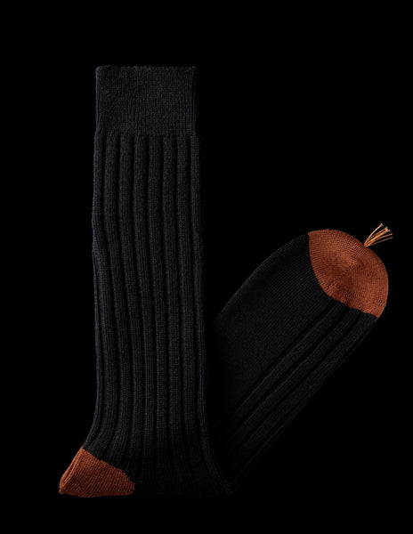 Contrast Color Wool Boot