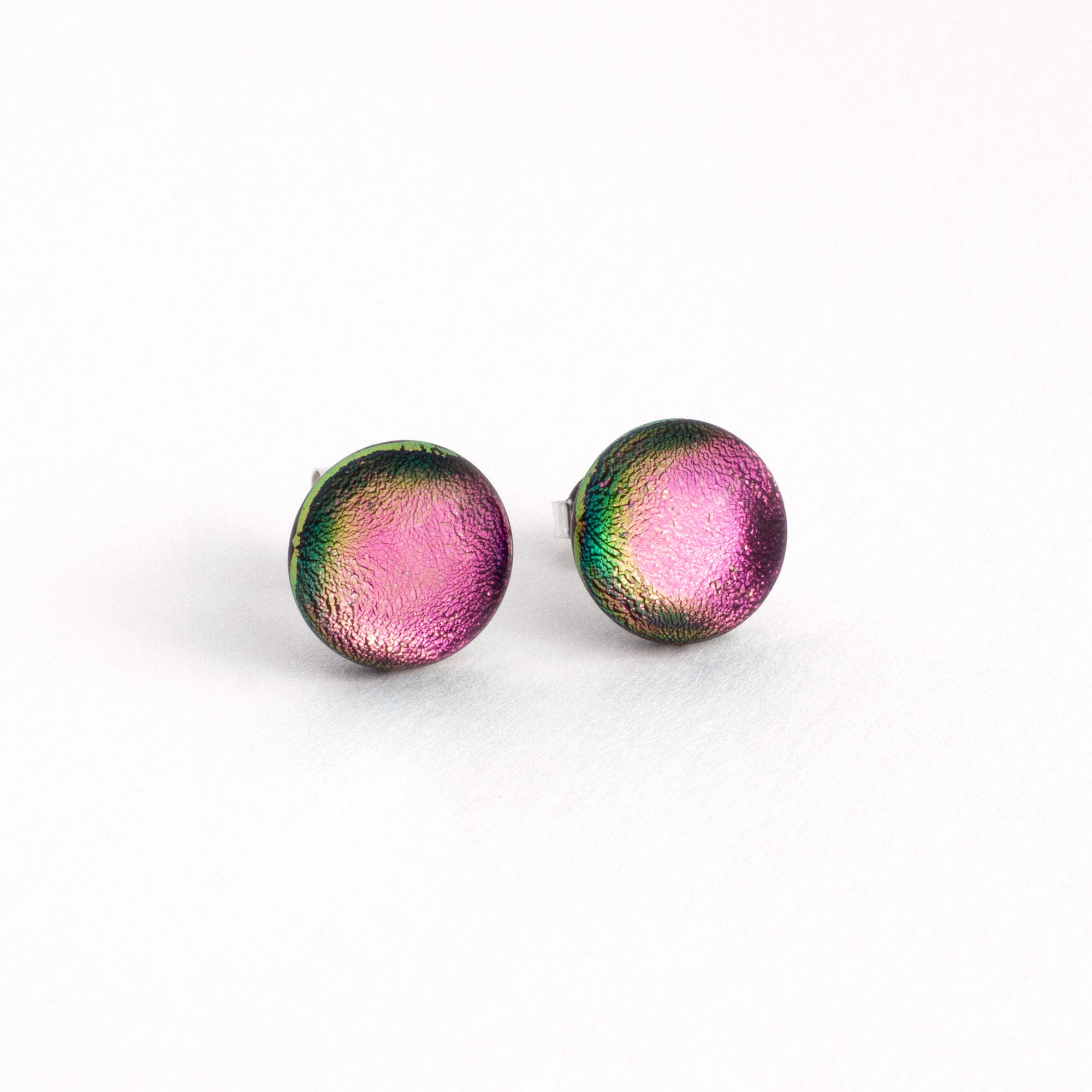 Dikhroos Pink Mini Earrings