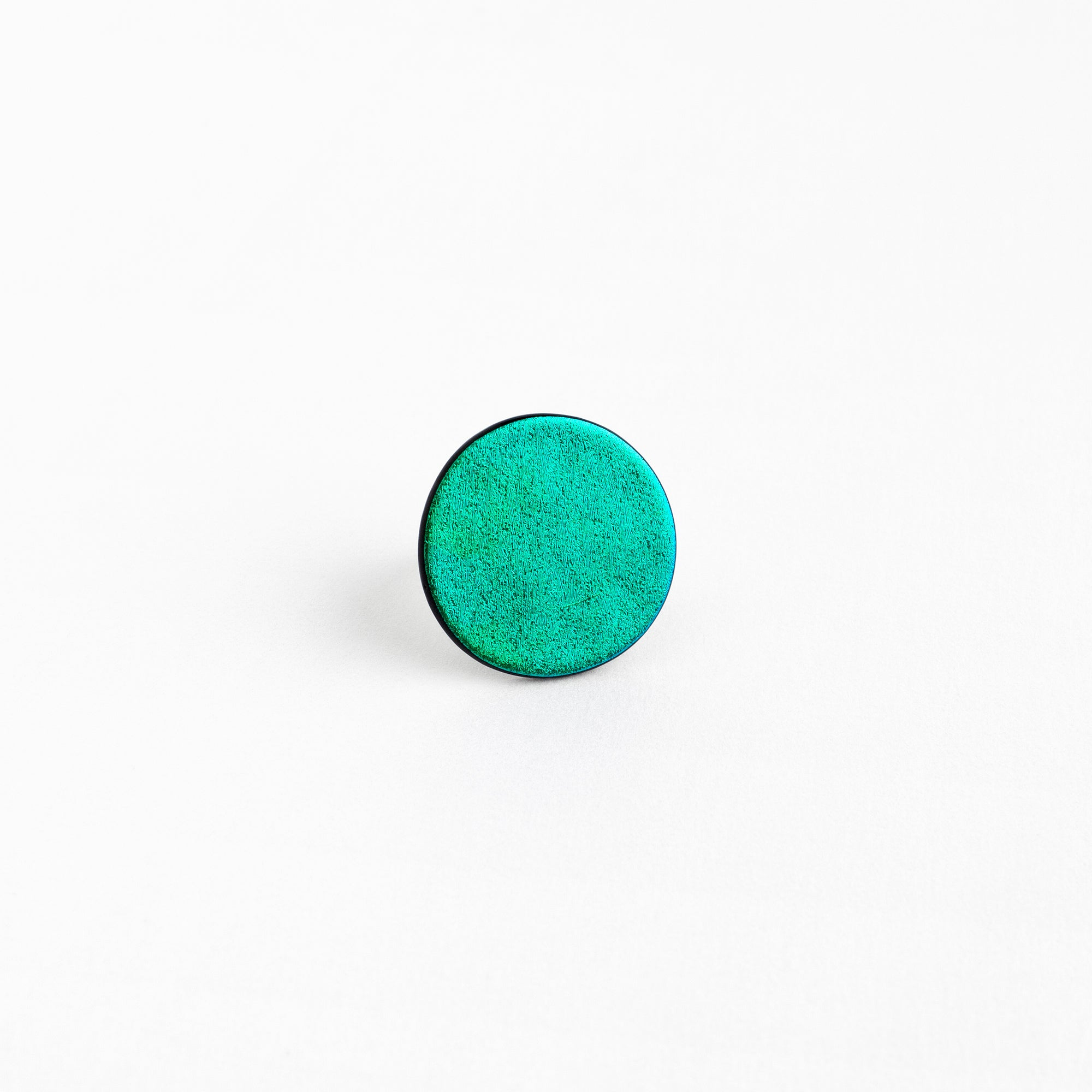 Technicolor Emerald Ring