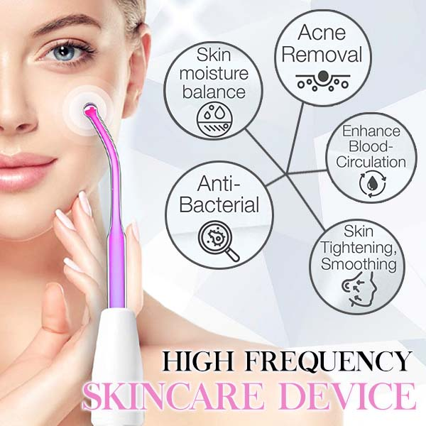 Portable High Frequency Skin Care Device