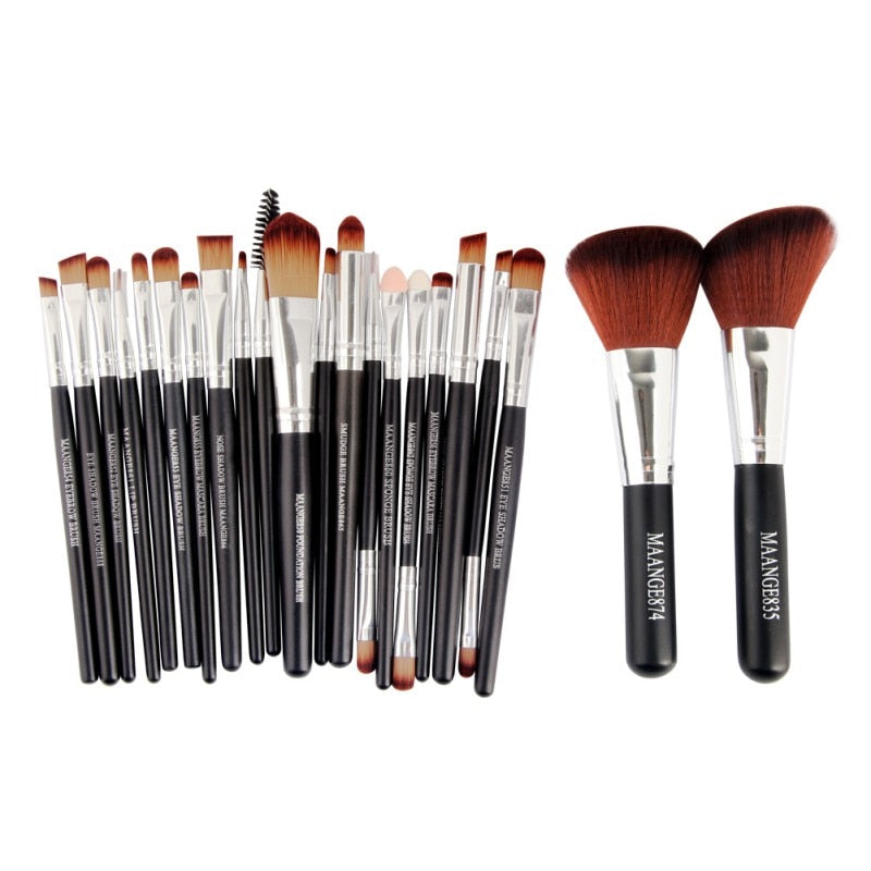 22 Pcs Makeup Brush Set - Oh My Gagdet