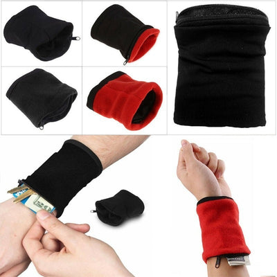 Wrist Pocket Storage Band - Oh My Gagdet