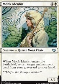Monk Idealist [Commander 2015] | Tacoma Games