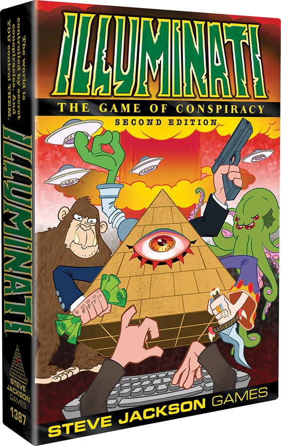 Illuminati: The Game of Conspiracy (2nd Edition) | Tacoma Games