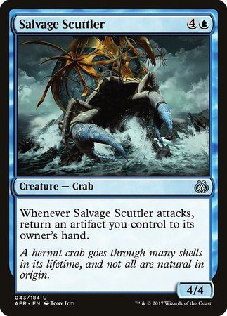 Salvage Scuttler [Aether Revolt] | Tacoma Games