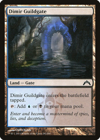 Dimir Guildgate [Gatecrash] | Tacoma Games