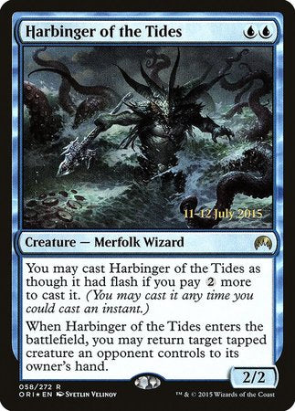 Harbinger of the Tides [Magic Origins Promos] | Tacoma Games