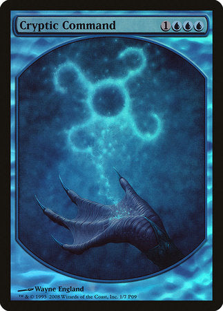 Cryptic Command [Magic Player Rewards 2009] | Tacoma Games