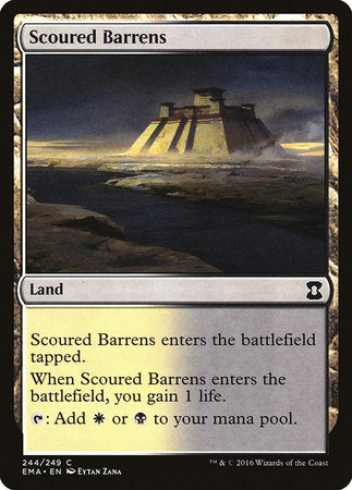 Scoured Barrens [Eternal Masters] | Tacoma Games