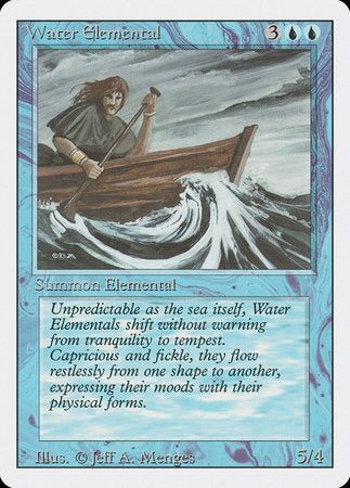 Water Elemental [Revised Edition] | Tacoma Games