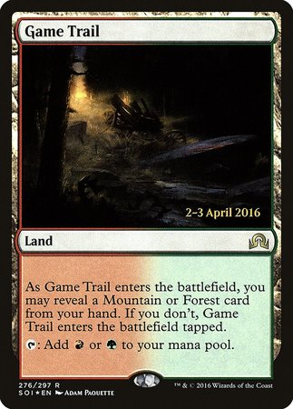 Game Trail [Shadows over Innistrad Promos] | Tacoma Games