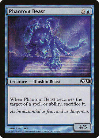 Phantom Beast [Magic 2011] | Tacoma Games