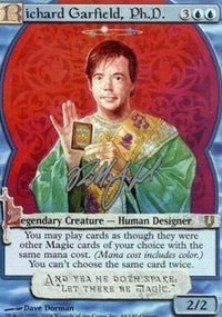 Richard Garfield, Ph.D. (Alternate Foil) [Unhinged] | Tacoma Games