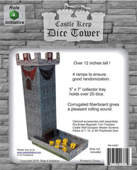 Castle Keep Dice Tower | Tacoma Games
