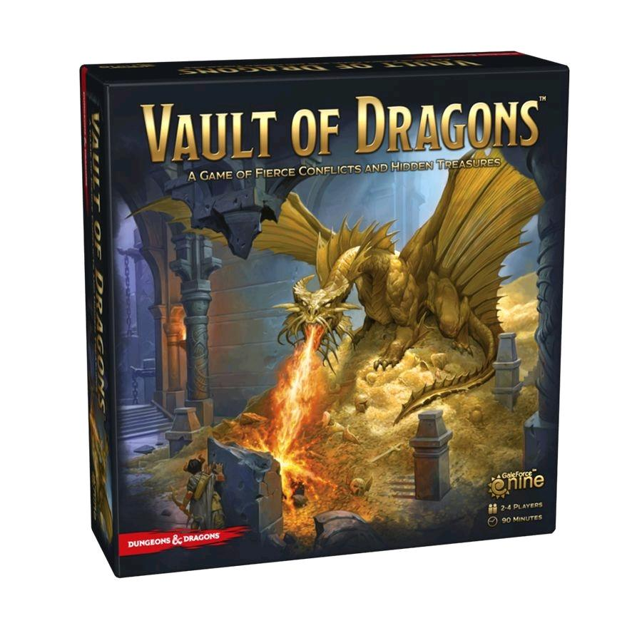 Dungeons Dragons Vault Of Dragons Board Game Tacoma Games