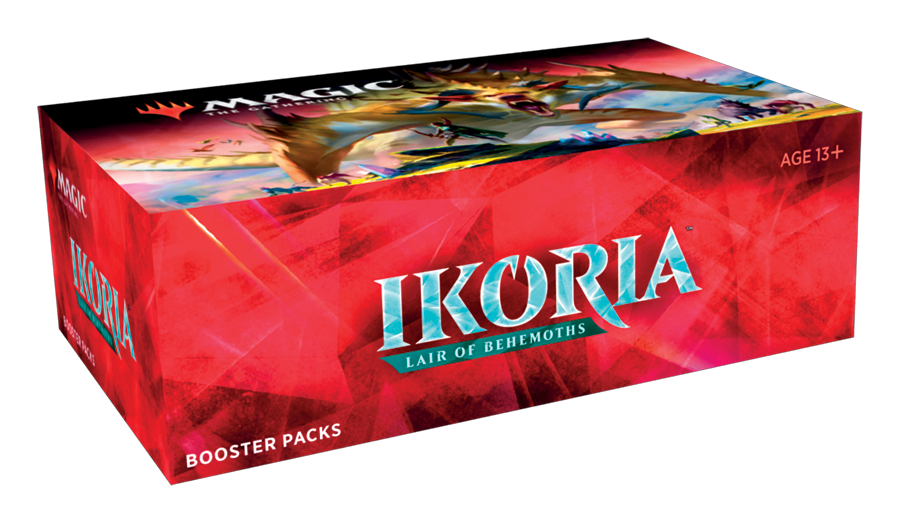 Ikoria: Lair of Behemoths Booster Box (Japanese) | Tacoma Games