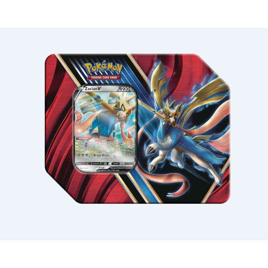 POKEMON TCG: LEGENDS OF GALAR TIN - ZACIAN | Tacoma Games