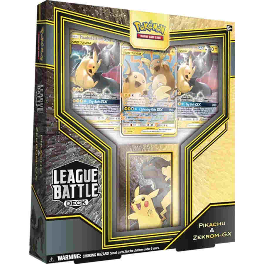 POKEMON TCG: LEAGUE BATTLE DECK: PIKACHU & ZEKROM GX | Tacoma Games