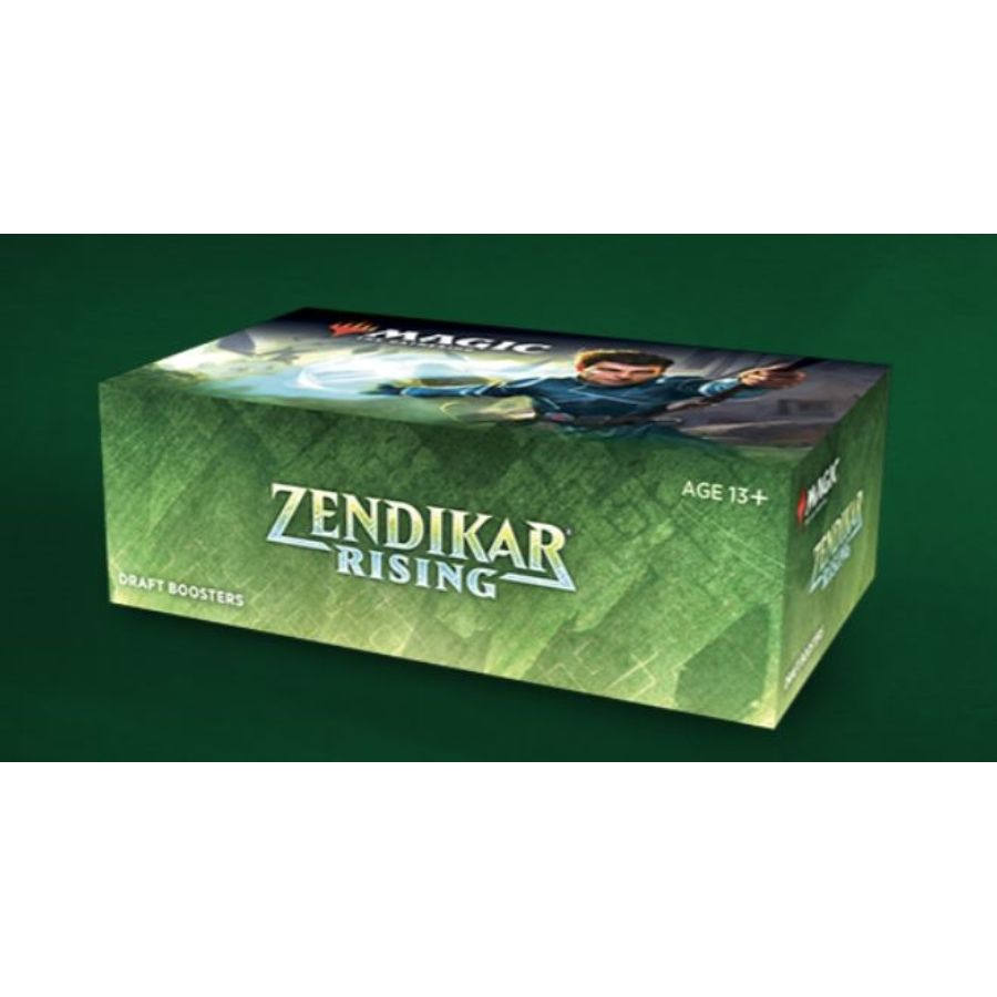 MAGIC THE GATHERING: ZENDIKAR RISING: DRAFT BOOSTER BOX | Tacoma Games