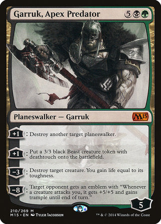 Garruk, Apex Predator [Magic 2015] | Tacoma Games