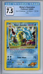 CGC 7.5 1st edition Gym Challenge Misty's Gyarados | Tacoma Games