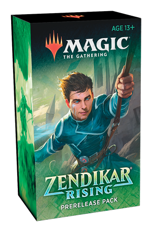 Zendikar Rising Pre-Release Kit (with 2 prize boosters) | Tacoma Games