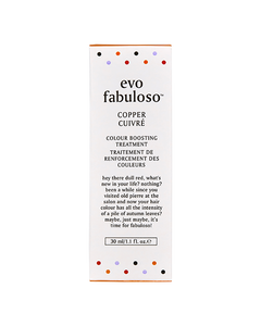 Fabuloso Colour Boosting Treatment Copper 30ml