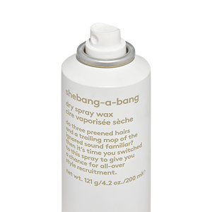 Shebang-a-Bang Dry Spray Wax 176g