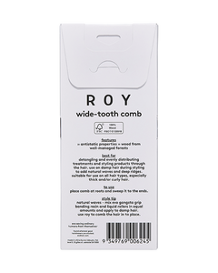 Roy Wide-Tooth Comb