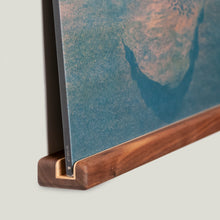 Load image into Gallery viewer, Single Vinyl Record Shelf - Walnut