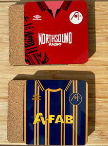 Aberdeen FC Retro Kit Coasters (Set of 2)