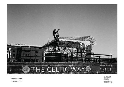 Celtic Park Black & White
