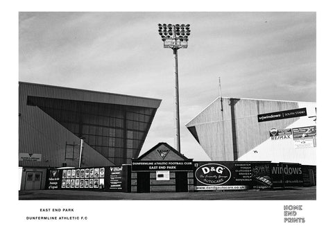 East End Park Black & White