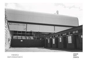 Tynecastle Black & White