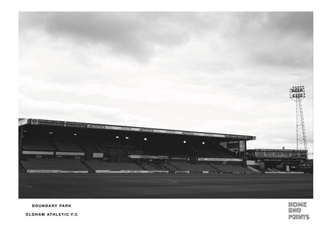 Boundary Park Black & White