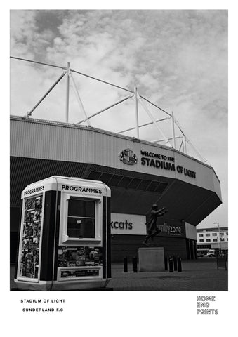 Stadium of Light Black & White