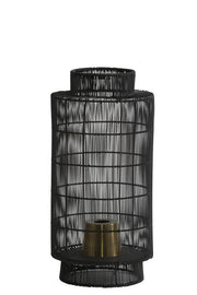 Gruaro Table Lamp | Black Bronze